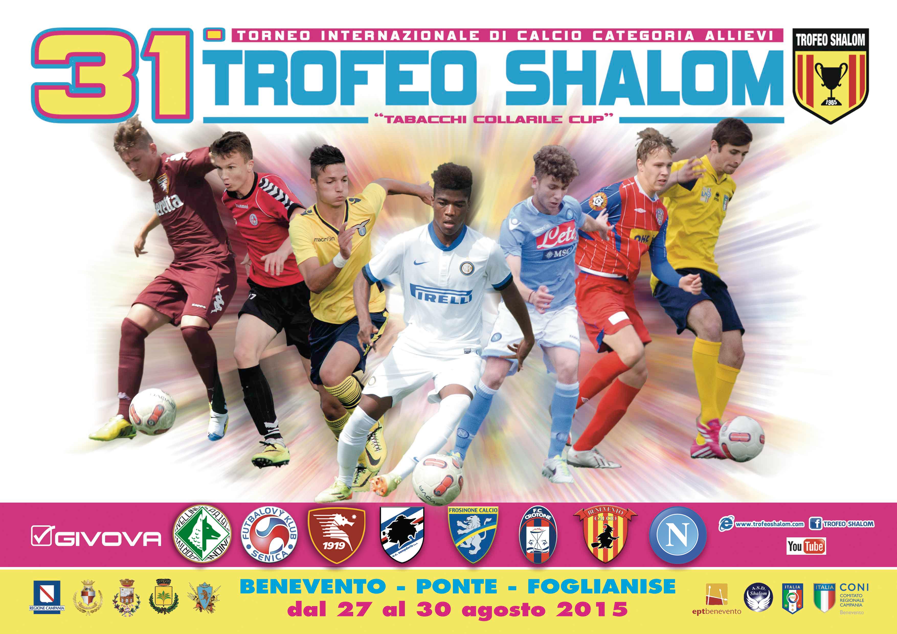 31 Trofeo Shalom 2015