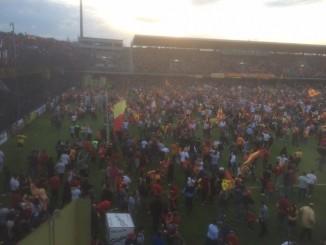 Benevento-Lecce invasione