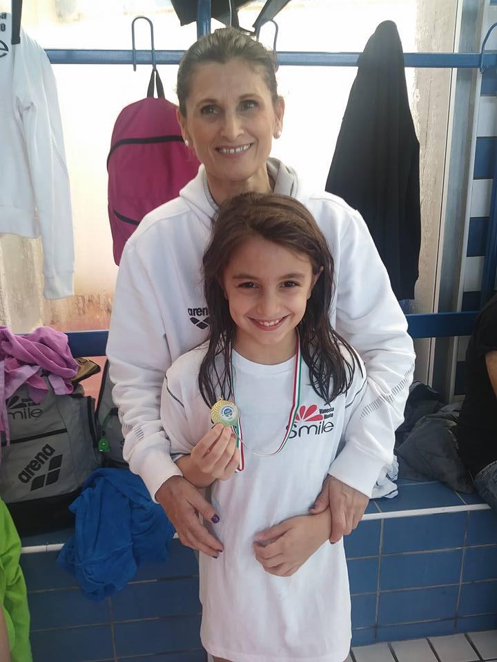 Buona Prestazione Dei Giovani Atleti Della Vanessa Nuoto Smile A Napoli