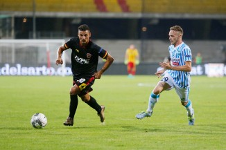 Lega Serie B football match Benevento Calcio vs Spal