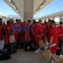 Benevento partenza ritiro