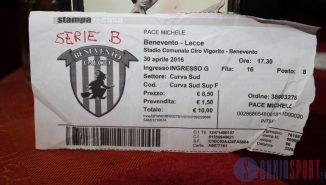 Biglietto Michele Pace