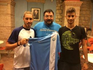 Pepe e Santamaria allo Sporting Pietrelcina