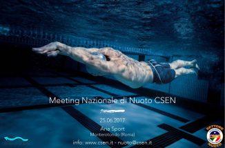 ASD LeSirene di Morcone ha partecipato al Meeting nazionale di nuoto CSEN