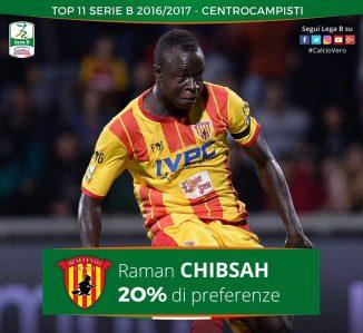 Yussif Raman Chibsah del Benevento
