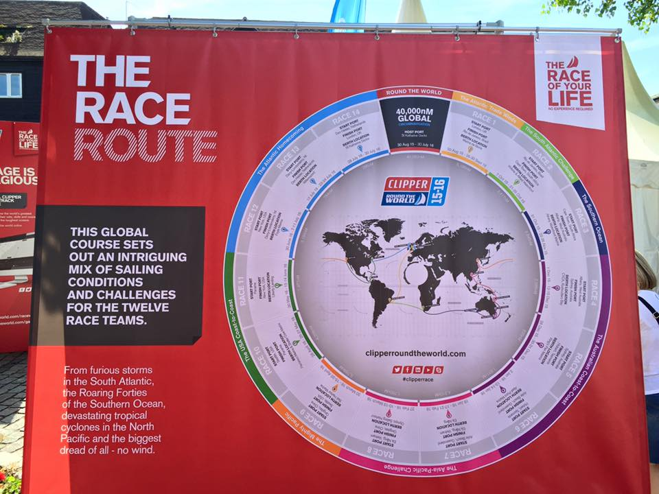 Clipper Rond The World 2015
