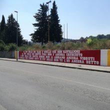 Murales Curva Sud Benevento, Poesia di Nazim Hikmet